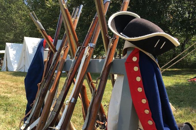 Reenactors' Muskets