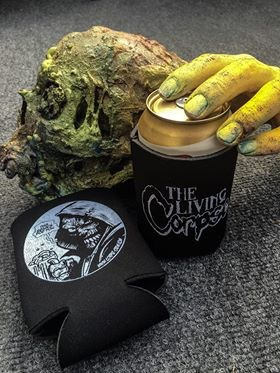Living Corpse beer coozie