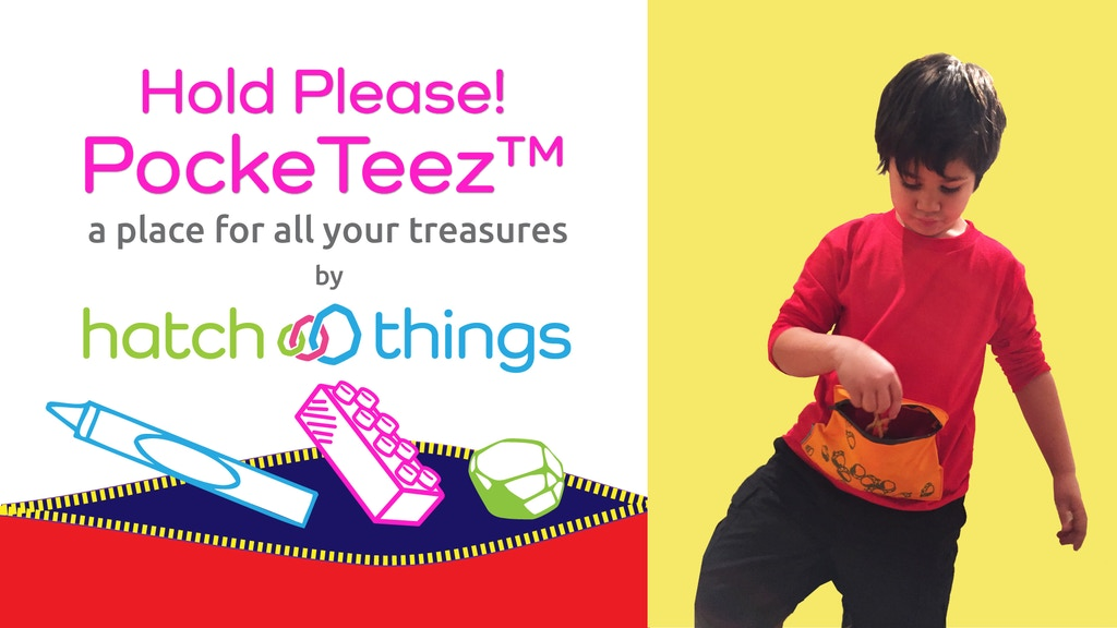 Hold Please! PockeTeez™ Shirts for Kids by Hatch Things project video thumbnail