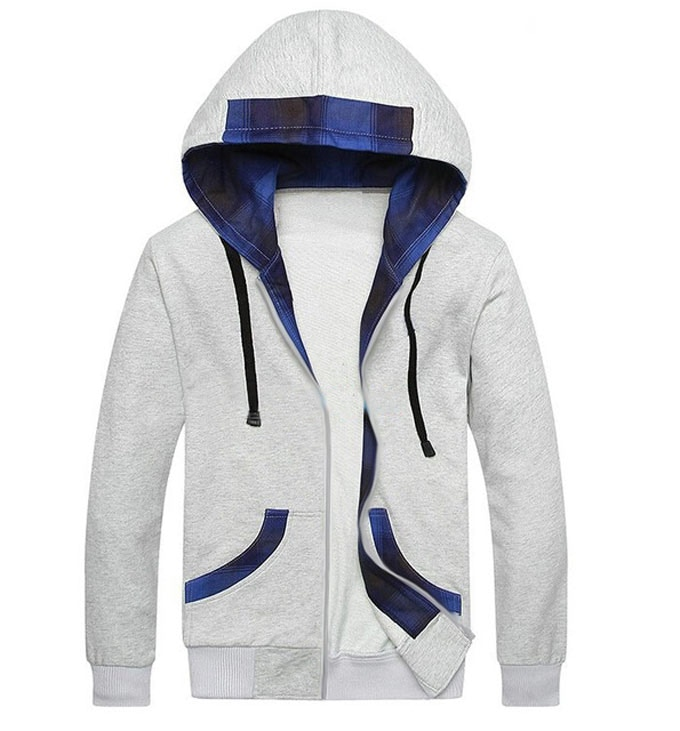 White and Blue Jacket