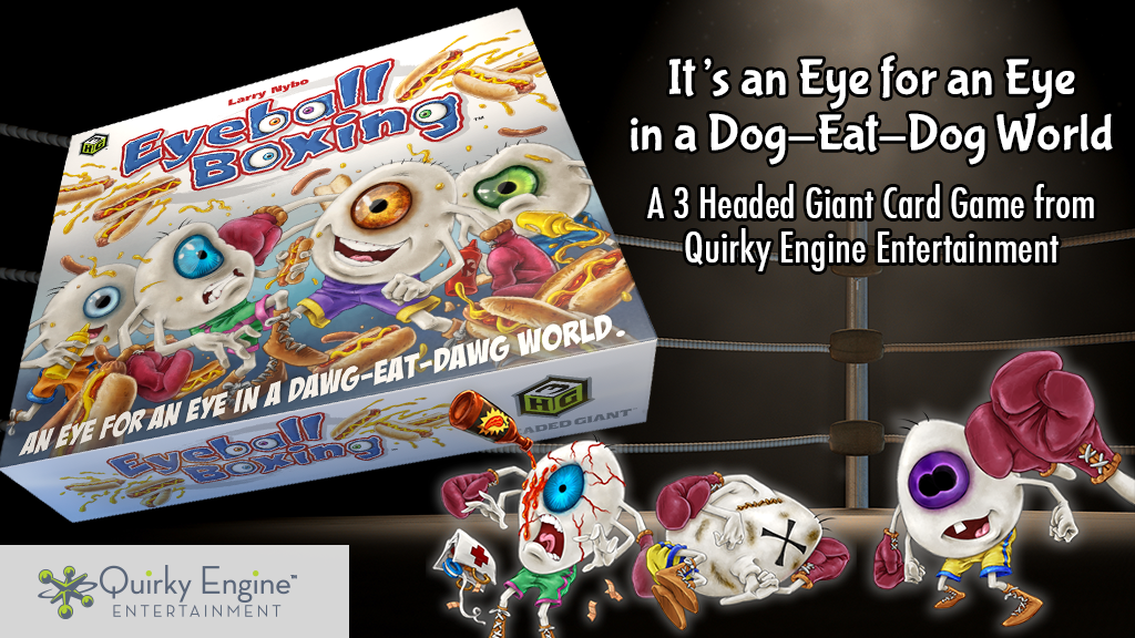 Eyeball Boxing - The Card Game project video thumbnail