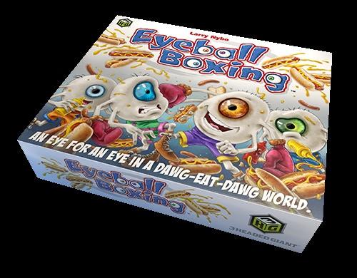Eyeball Boxing - The Card Game