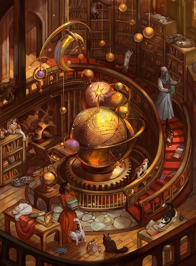 """Scholars' Tower"" by Julie Dillon (2014)"