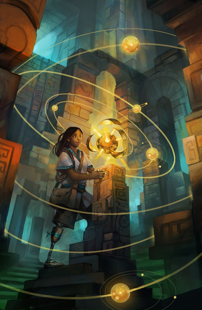 """Ancient Discovery"" by Julie Dillon (2013)"