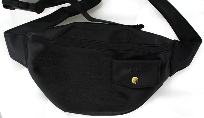 DiFranzo Leather Fanny Pack