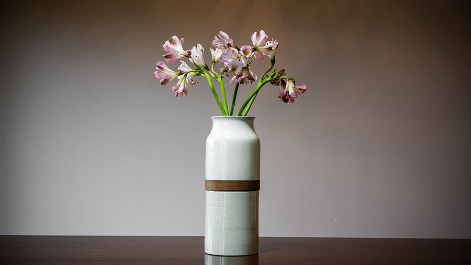 A Contemporary Pet Cremation Urn, Vase Urn by Big Sky Urns