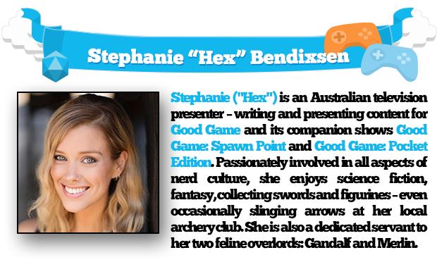 "Stephanie ""Hex"" Bendixsen"