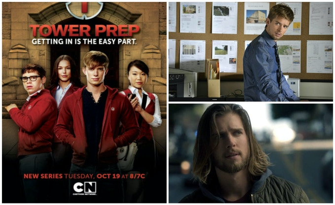 Drew Van Acker on Cartoon Network's TOWER PREP, Freeform's PRETTY LITTLE LIARS and CBS's TRAINING DAY