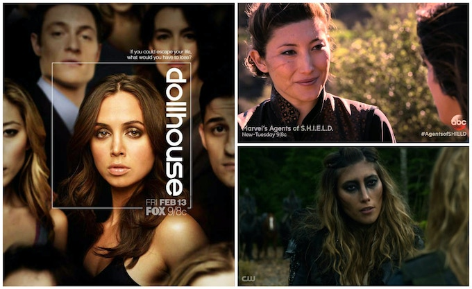 Dichen Lachman on Fox's DOLLHOUSE, ABC's Marvel's Agents of SHIELD, and The CW's THE 100