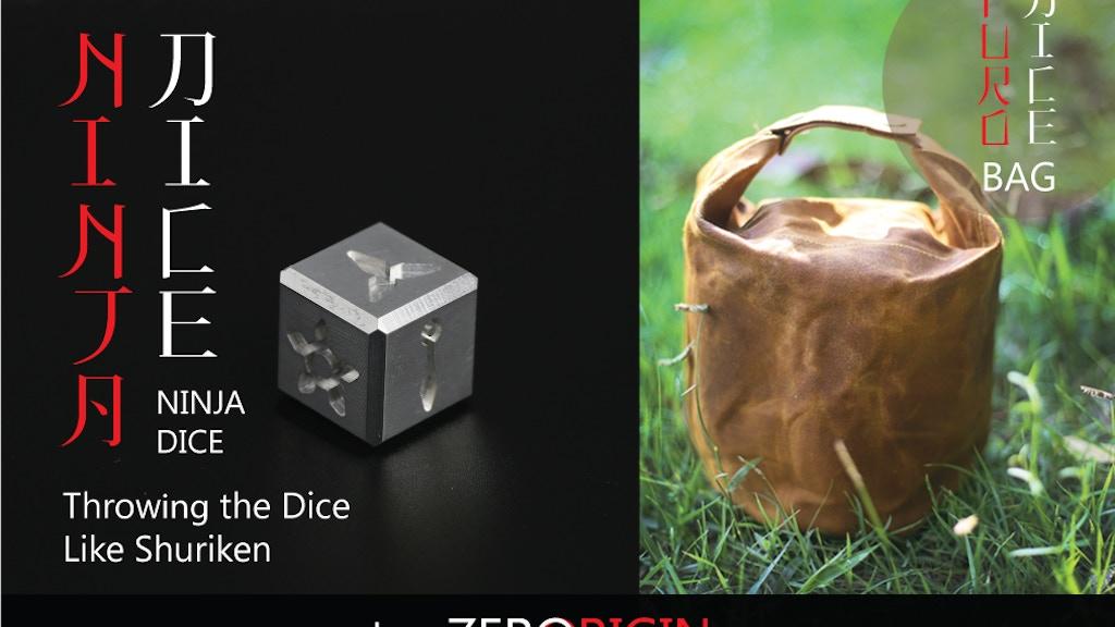 Ninja dice : throwing the dice like Shuriken & Furo dice bag project video thumbnail