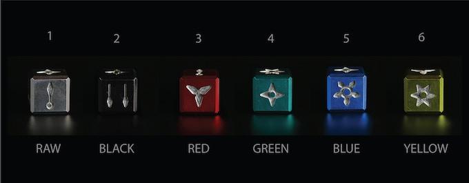 ninja dice color