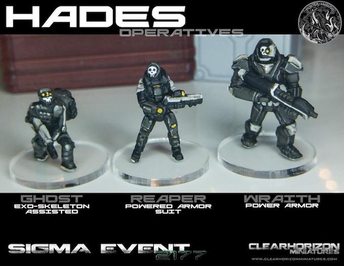 Reaper Team comparison shot