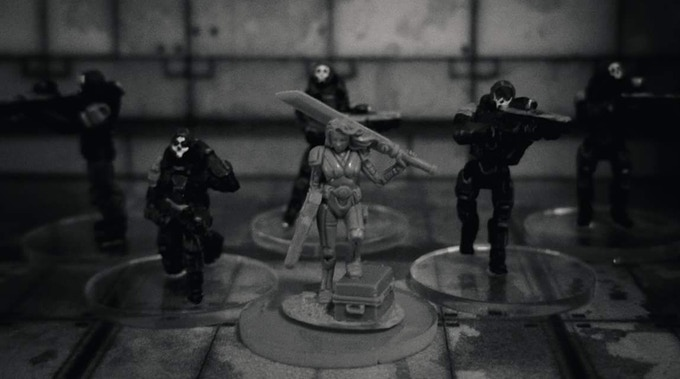 Operative Ker and Reaper Team