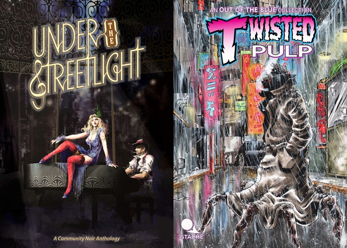 Under the Streetlight (62 pages) and Twisted Pulp (140 pages)