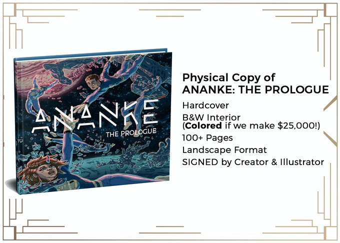 MINIMUM $100 DONATION to get LIMITED EDITION & SIGNED HARDCOVER BOOK! YOUR NAME will also be in the THANK YOU Section of the Novel!! Created & Written by Natalie Raffaele, Illustrated by Aaron Parks. Font, Image & Layout Not Final. Example Only.