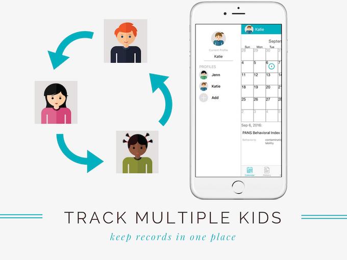 Track multiple kids