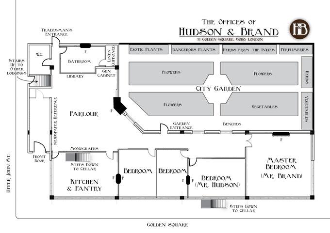 Hudson & Brand, Ground Floor