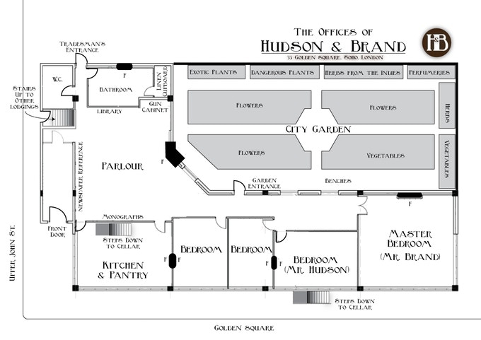 Hudson & Brand, Ground Floor