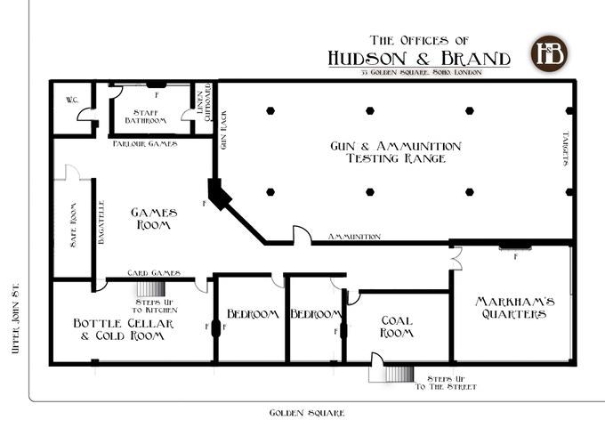 Hudson & Brand, Cellar