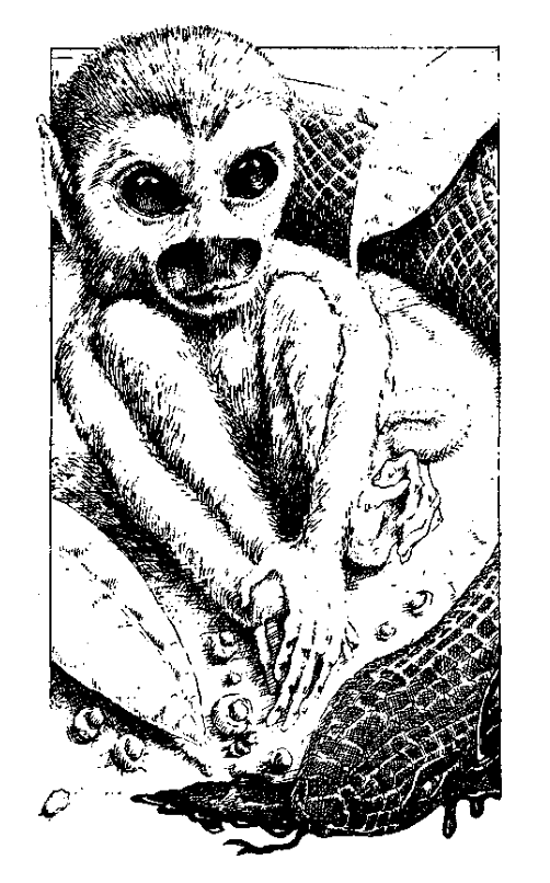 Original 1984 interior illustration #5 by Leo Hartas - to appear in colour in this Collector's Edition