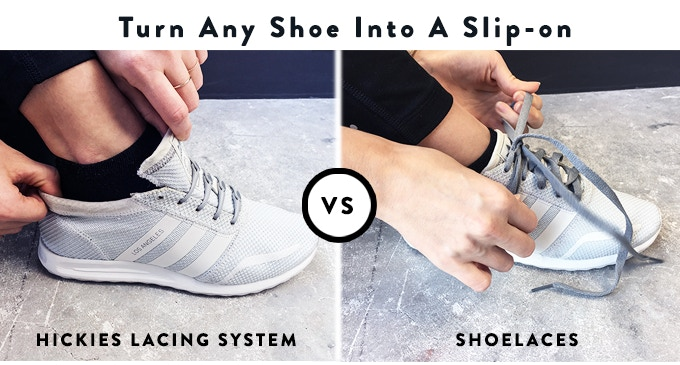 It's convenient, easy, and saves time. You'll notice it once you never have to tie or untie your shoes again.