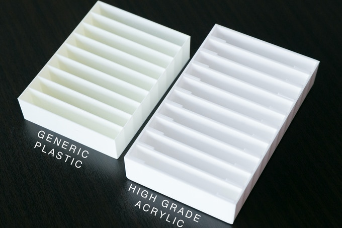 Generic Plastic vs BitLounger High Grade Acrylic