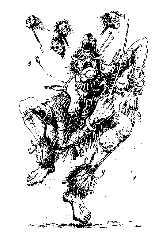 Original 1984 interior illustration #2 by Leo Hartas - to appear in colour in this Collector's Edition