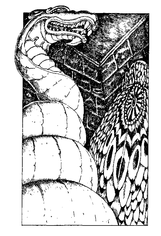 Original 1984 interior illustration #6 by Leo Hartas - to appear in colour in this Collector's Edition