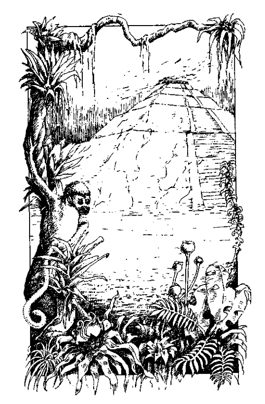 Original 1984 interior illustration #1 by Leo Hartas - to appear in colour in this Collector's Edition