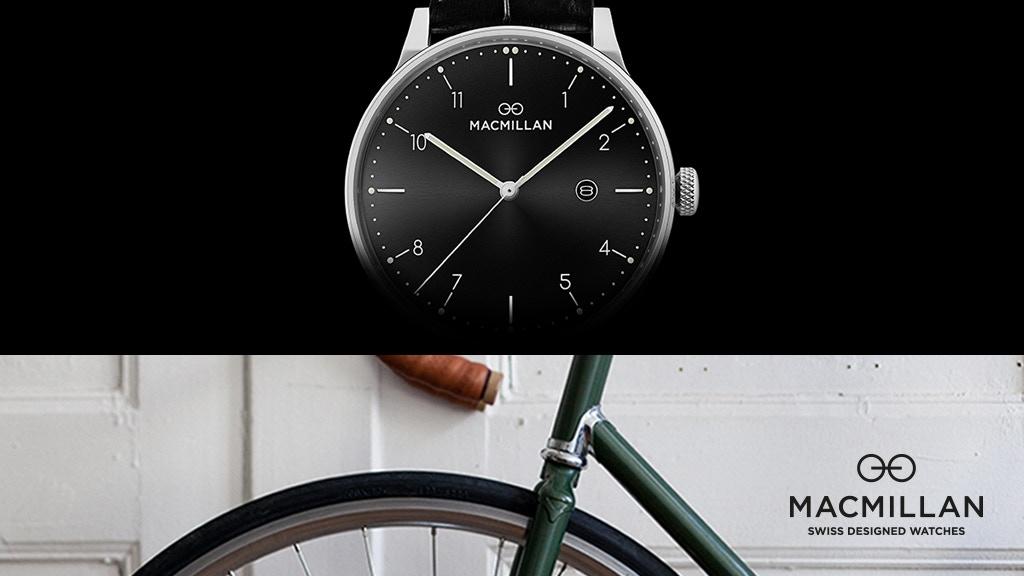 Macmillan, swiss designed watches project video thumbnail