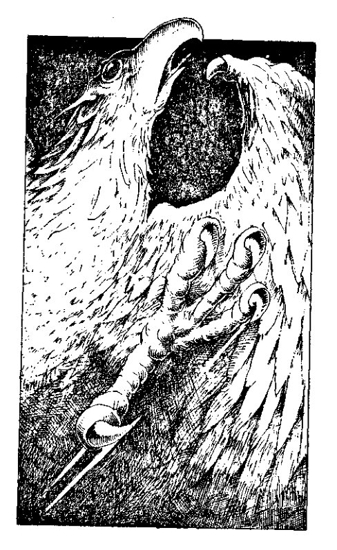 Original 1984 interior illustration #3 by Leo Hartas - to appear in colour in this Collector's Edition