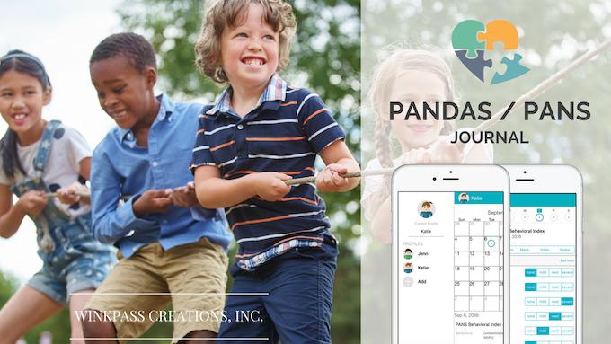 PANDAS / PANS JOURNAL for iPhone