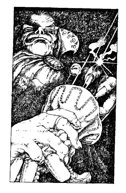 Original 1984 interior illustration #10 by Leo Hartas - to appear in colour in this Collector's Edition