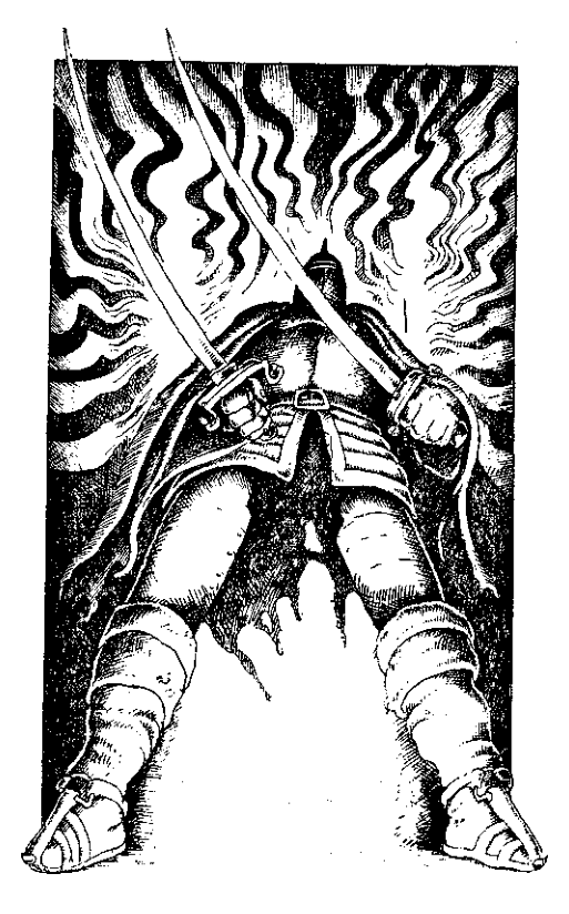 Original 1984 interior illustration #14 by Leo Hartas - to appear in colour in this Collector's Edition