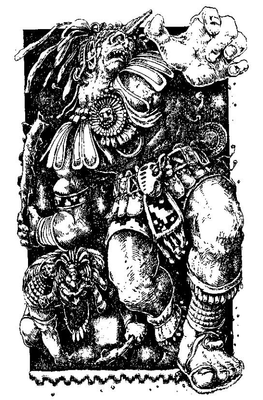 Original 1984 interior illustration #18 by Leo Hartas - to appear in colour in this Collector's Edition