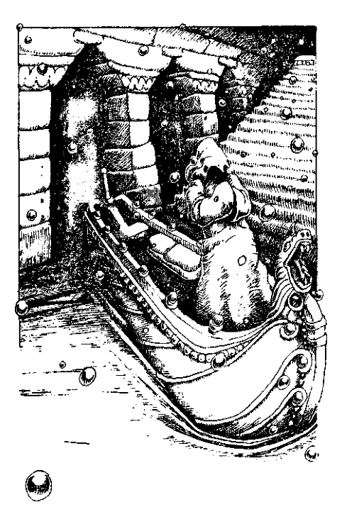 Original 1984 interior illustration #19 by Leo Hartas - to appear in colour in this Collector's Edition