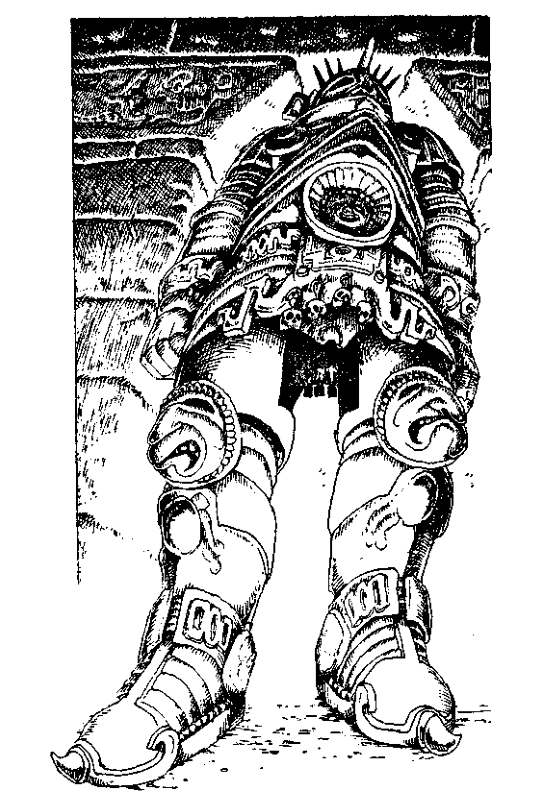 Original 1984 interior illustration #20 by Leo Hartas - to appear in colour in this Collector's Edition