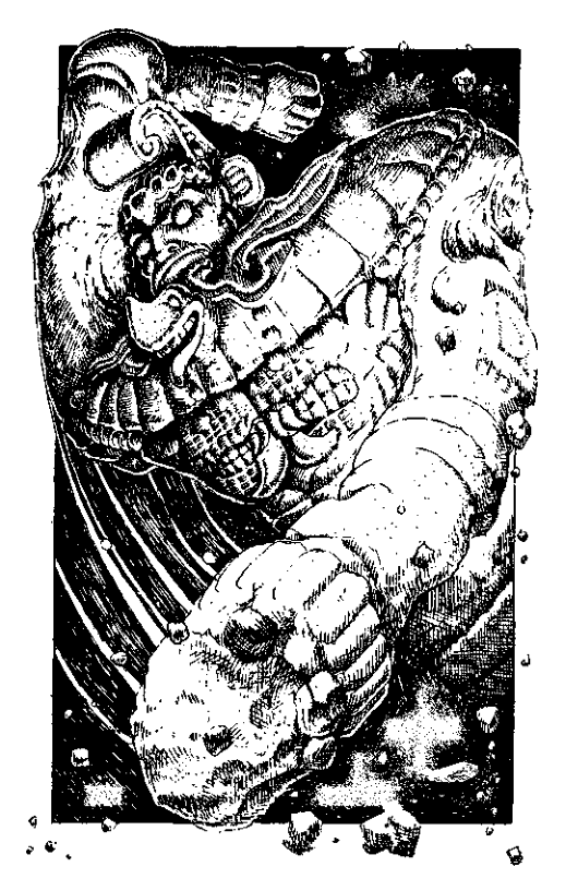 Original 1984 interior illustration #22 by Leo Hartas - to appear in colour in this Collector's Edition
