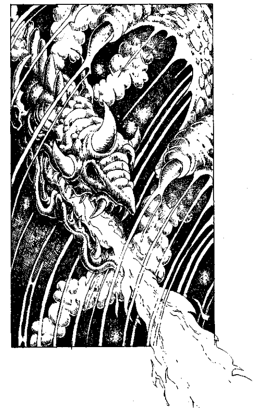 Original 1984 interior illustration #23 by Leo Hartas - to appear in colour in this Collector's Edition