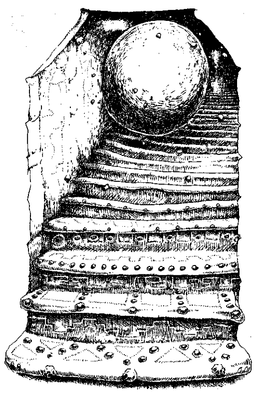 Original 1984 interior illustration #26 by Leo Hartas - to appear in colour in this Collector's Edition