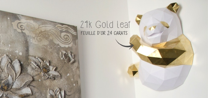 Chengdu panda 24k Gold (daylight)