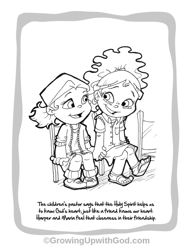 We Are So Excited To Give You A Sneak Peak Of One Our Coloring Pages From Growing Up With God Book Here See Maria Her Family