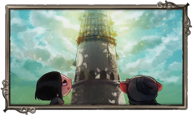 Nairi, Rex and the construction of the Tower.