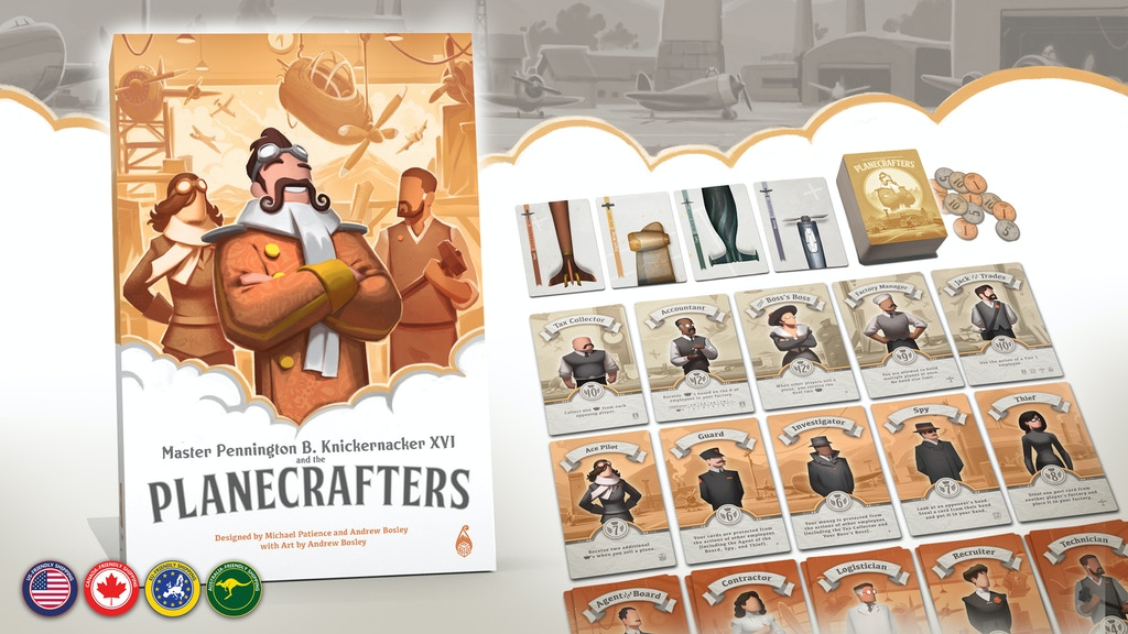 Planecrafters - A Fantasy Plane-Building Card Game