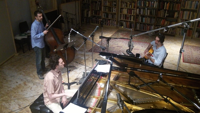 Recording session @ Oktaven studio