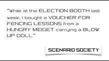 SCENARIO SOCIETY Card Game - NSFW!