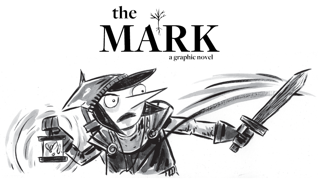 THE MARK (a graphic novel) hardcover project video thumbnail