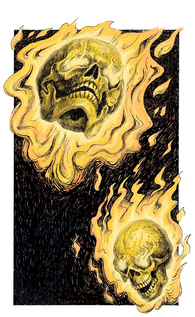 Leo Hartas has started to convert the original art to colour, for the Collector's Edition. Here is a sample.