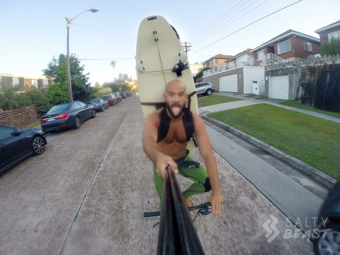 Cycling made easy but GoPro Selfies not recommended