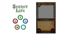 Secret Life - A new Trading Card Game